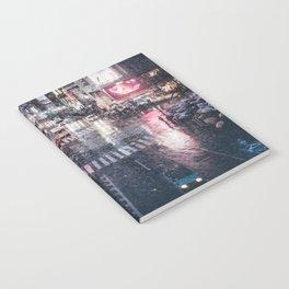 Rainy Night at Shibuyacrossing Notebook
