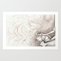 ohm Art Prints featuring Ohm... by Sarah Skiöld-Hanlin