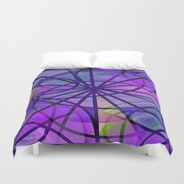 Arcs and Light Duvet Cover