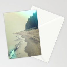It was a foggy morning Stationery Cards