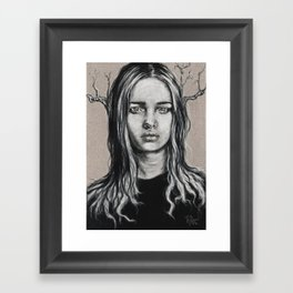 Branch: Postcard #1  Framed Art Print