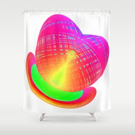Summerhearthat Shower Curtain