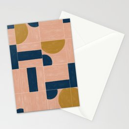 Painted Wall Tiles 03 Stationery Cards