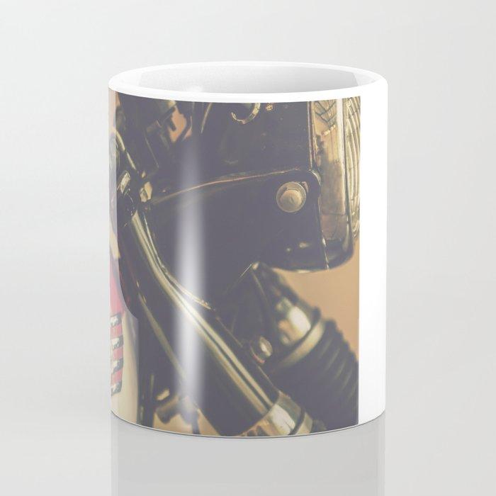Vintage Triumph Bonneville Motorcycle Coffee Mug