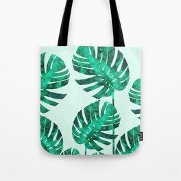 Composition tropical leaves XIX Tote Bag