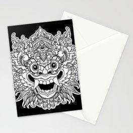 Bali Traditional Barong Mask Stationery Cards