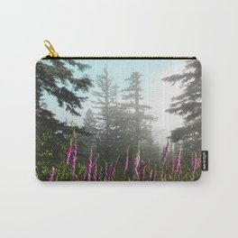Misty Mountain Wildflowers Carry-All Pouch