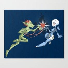 Odd Love Canvas Print