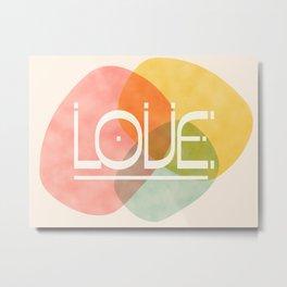Stones Of Love #society6 #love Metal Print