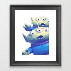 A.L.I.E.N.S Framed Art Print