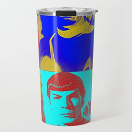 Science Officer Spock (Andy Warhol Remix) Travel Mug