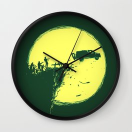 Zombie Invasion Wall Clock