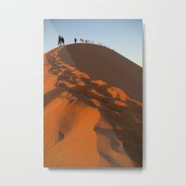 On Top of Dune 45 Metal Print