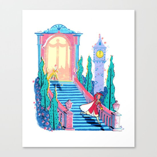 Cinderfella Canvas Print