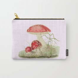 Agaricus Muscarius Carry-All Pouch