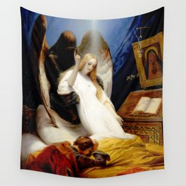 The Angel of Death Wall Tapestry