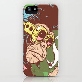 Knuckle Dragger iPhone Case