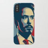 tony stark iPhone & iPod Cases featuring Tony Stark by Cadies Graphic