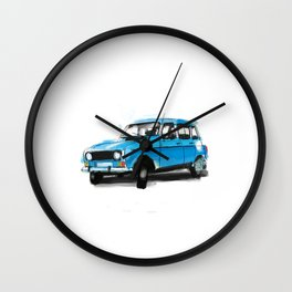 Renault 4L Wall Clock