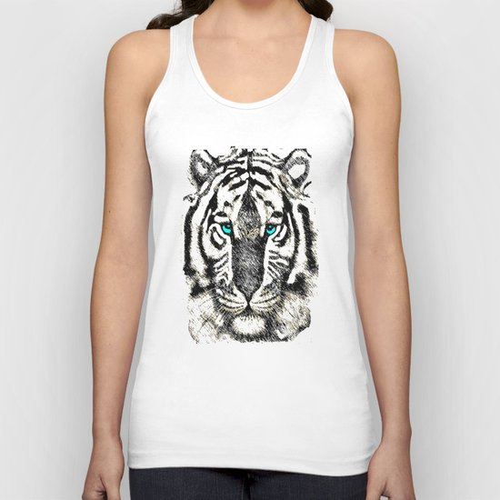 Eye of the Tiger Unisex Tank Top