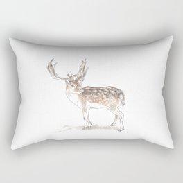 Reindeer Rectangular Pillow