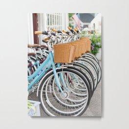 Bicycles Metal Print