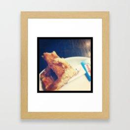Waffles Bruxelles Framed Art Print