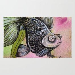 Moorfish on Green Rug