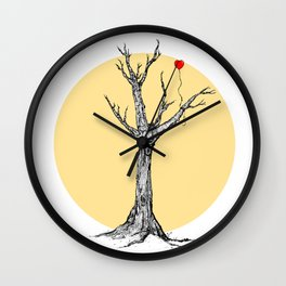 Love is an investment.  Wall Clock