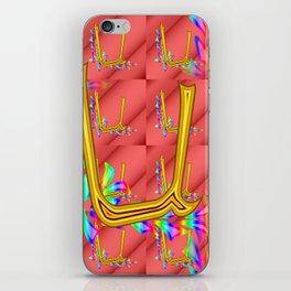 U - pattern 1 iPhone Skin