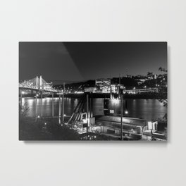 Submarine Dock Metal Print