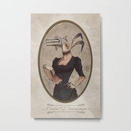 Miss Derringer Metal Print