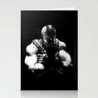 bane Stationery Cards featuring Bane by NickHarriganArtwork