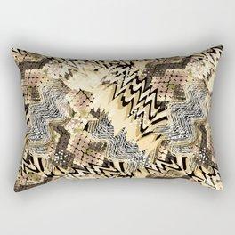 African pattern. Rectangular Pillow