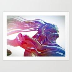 Hec Art Print
