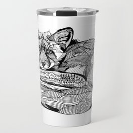Fox Mystery  Travel Mug