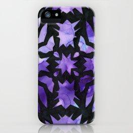 Black Snowflake iPhone Case