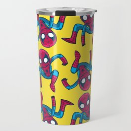 Does whatever a spider can! Travel Mug