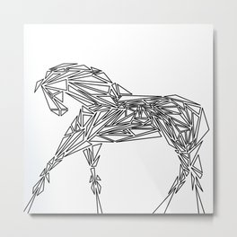 Geometrically Sound Metal Print