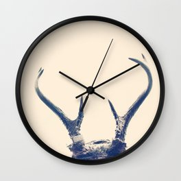 Antlers Wall Clock