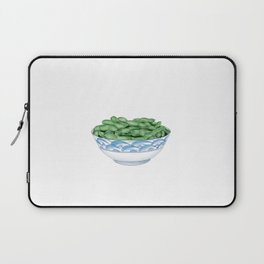 Boiled Green Soybeans   盐水毛豆 Laptop Sleeve