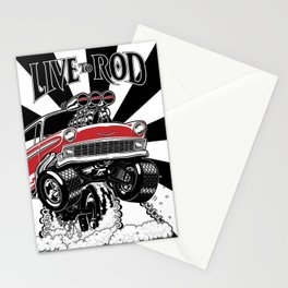 1956 CLASSIC HOT ROD Stationery Cards