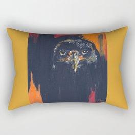 First Flight (Immature Bald Eagle) Rectangular Pillow