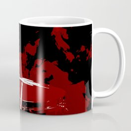RED SMOKE DARK Coffee Mug