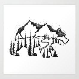 Bear Valley Art Print