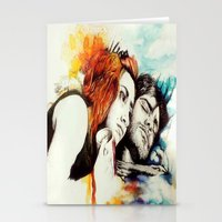 eternal sunshine of the spotless mind Stationery Cards featuring Eternal Sunshine by Alycia Plank