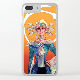 Satine Clear iPhone Case