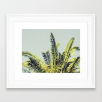 palm Framed Art Prints featuring Palm by Esther Ní Dhonnacha