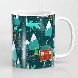 wild winter wonders in Scandinavia Coffee Mug