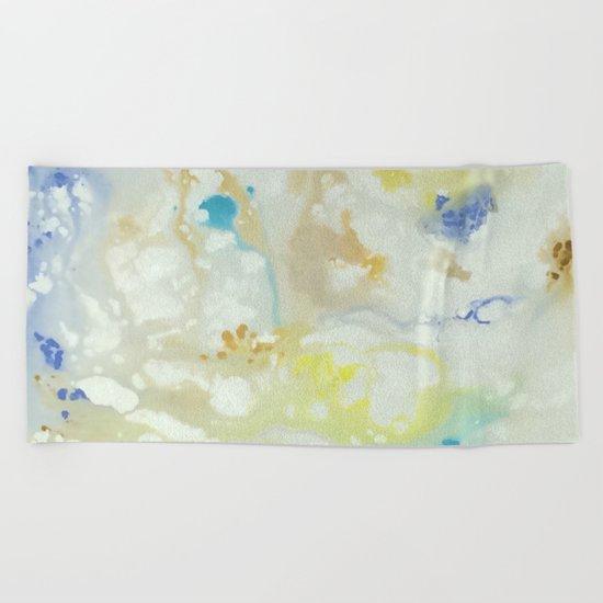 Marbling Series Beach Towel
